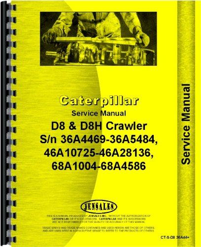 Read Online Caterpillar D8H Crawler Service Manual (SN# 36A4469-36A5484, 46A10725-46A28136, 68A1004-68A4586) ebook