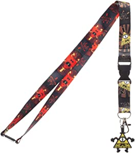 Gravity Falls - Bill Cipher Lanyard
