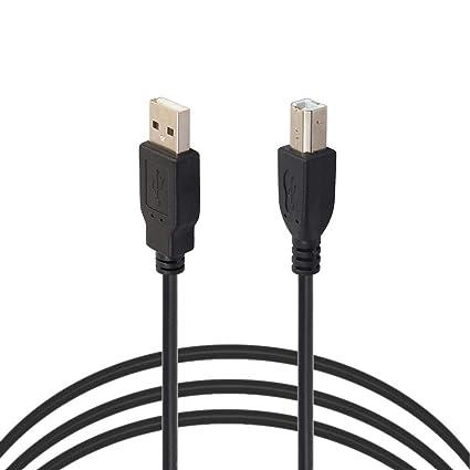 LiChiLan Cable de Impresora USB 2.0 Macho a Macho escáner ...