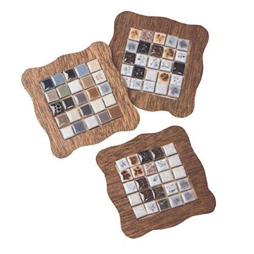 Tiny Tile Coasters Craft Kit (Makes 16)
