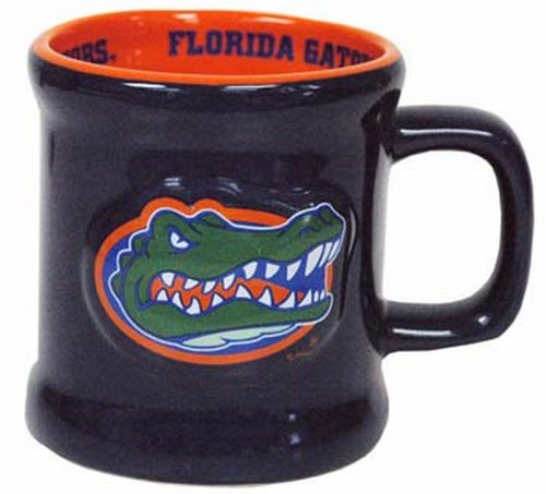 NCAA Florida Gators Mug Ceramic Relief