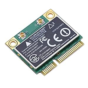 Tarjeta de Red Mini WiFi PCI-E de Doble Banda 2,4 G/5 GHz + Tarjeta de Red Bluetooth 4.2 433 Mbps WiFi Mini PCI-E Tarjeta inalámbrica para Windows ...
