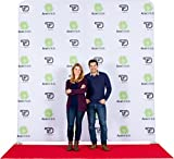 Ace Exhibits - 10' x 10' FLAT EVENT TRU-FIT 3.0 - Dye-Sub Printed Graphic Stretch Tension Fabric - Step and Repeat Banner – Red Carpet Backdrop – Step and Repeat Backdrop