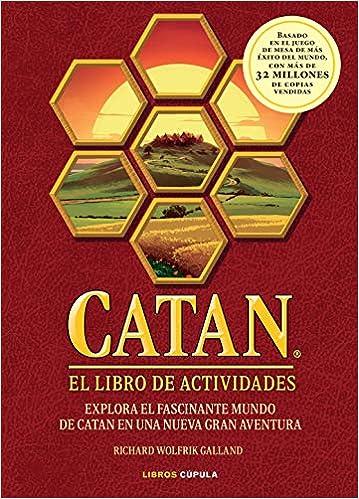 CATAN: Libro de enigmas y acertijos de Richard Wolfrik Galland