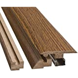 Simple Solutions 4 In 1 Flooring Transition Molding   Heirloom Oak