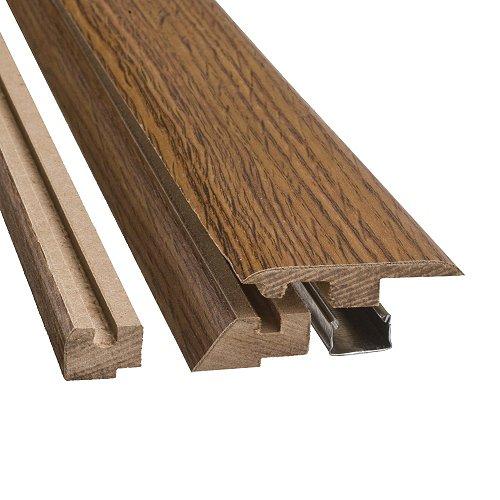 Simple Solutions 4 in 1 Flooring Transition Molding - Heirloom Oak