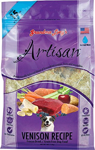 Grandma Lucy's Freeze-Dried Grain-Free Pet Food: Artisan Venison 3lbs