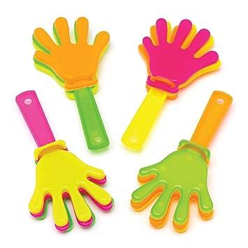 Baker Ross- Minicarracas de manos (Pack de 8) Carracas de ...