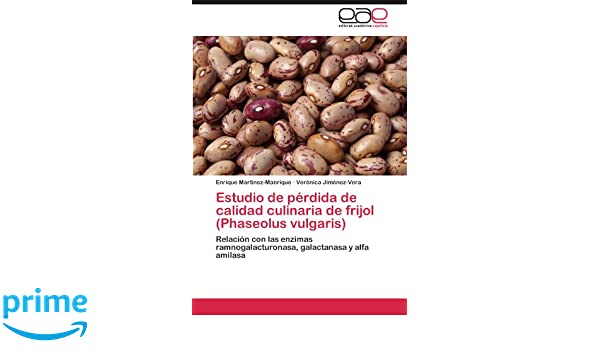 Estudio de pérdida de calidad culinaria de frijol Phaseolus ...