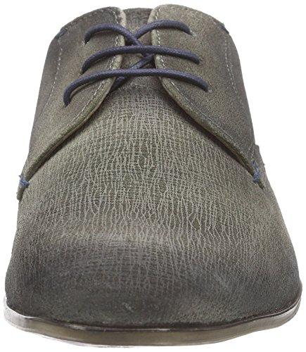 Bugatti312101011400 - Zapatos de Cordones Hombre Blanco - Blanc (offwhite 2100)