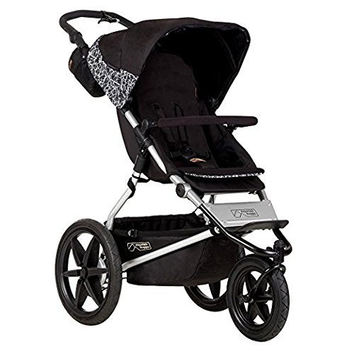 Mountain Buggy Terrain Premium Jogging Stroller, Graphite by Mountain Buggy