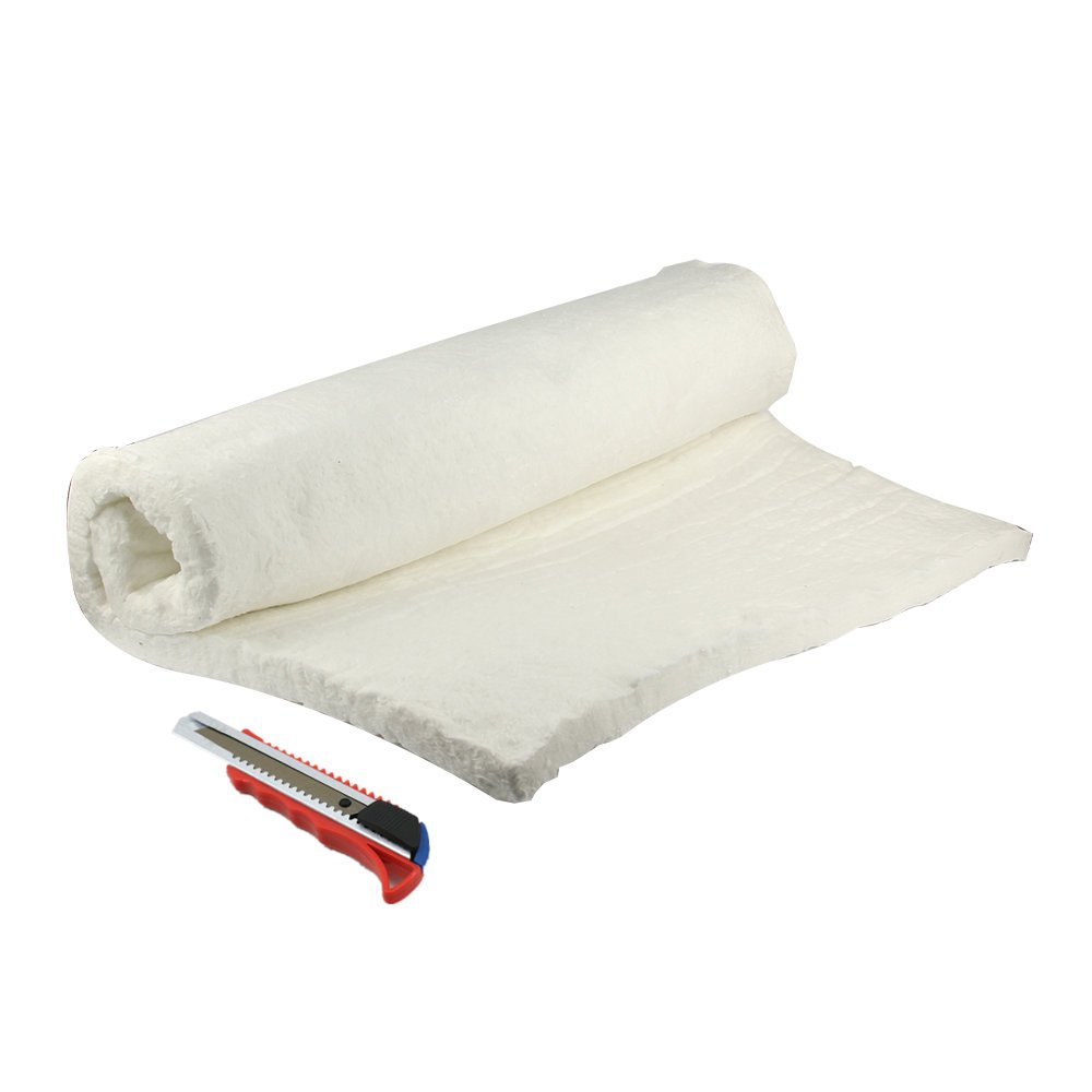 "HM&FC 1""x 24""x 31"" Ceramic Fiber Insulation Blanket 2400F for QuadraFire Wood Stoves, & More."