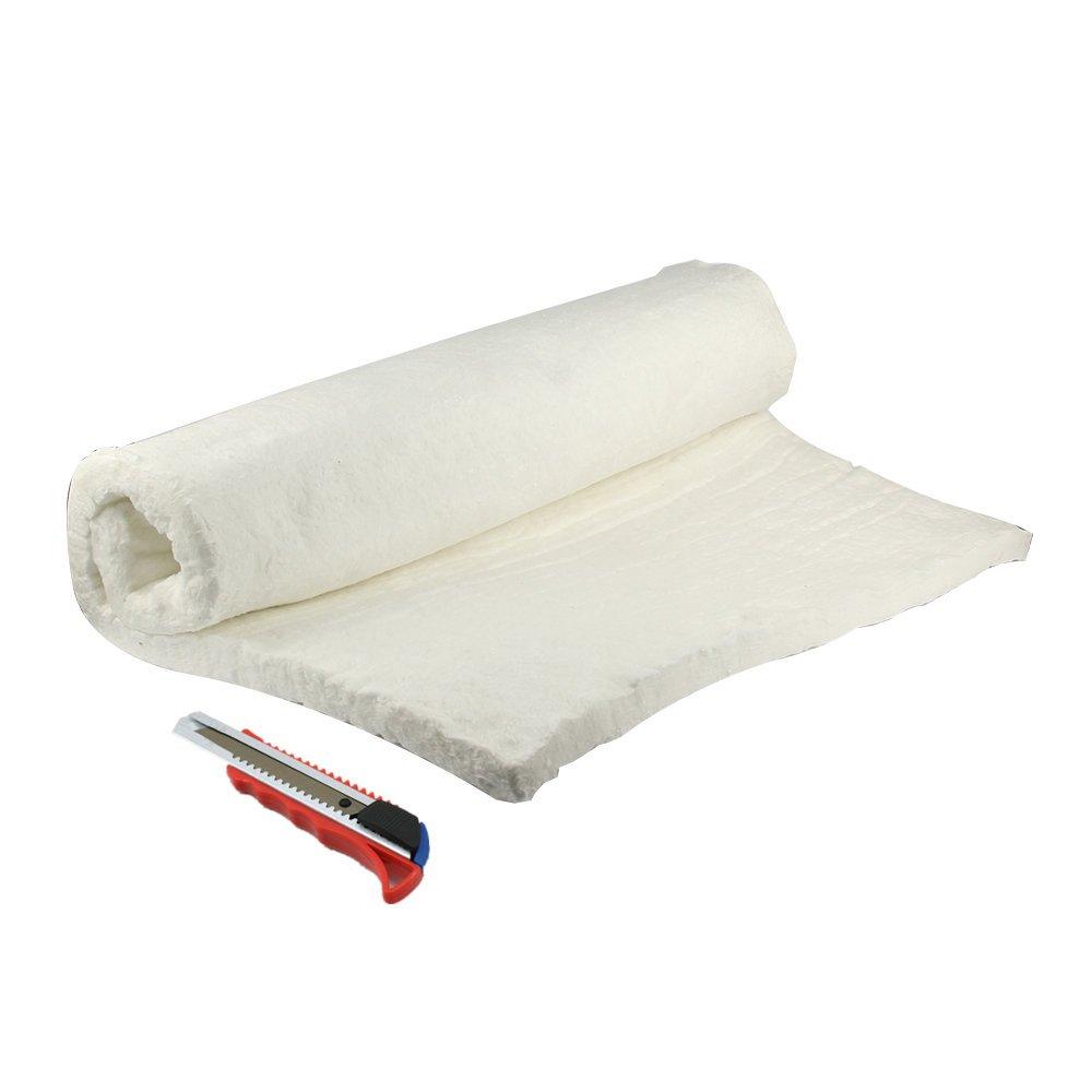 HM&FC 1''x 24''x 31'' Ceramic Fiber Insulation Blanket 2400F for QuadraFire Wood Stoves, & More. by HM&FC