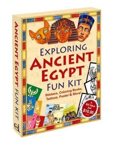 Exploring Ancient Egypt Fun Kit (Dover Fun Kits) (Fun Kits Dover)