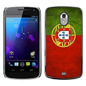 Shell-Star ( National Flag Series-Portugal ) Snap On Hard Protective Case For SAMSUNG Google NEXUS / I9250