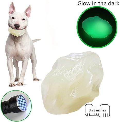 EETOYS Juguete para masticar para perros agresivos que brillan en ...
