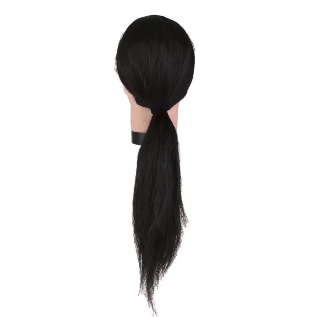 Salon Hairdressing Hair Cut Training Practice Head Mannequin 20'' w/ Holder Generic