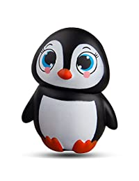 WATINC Kawaii 1 pcs Jumbo animal squishies Penguin Squishy Slow Rising Sweet Scented Vent Charms Kid Toy Hand Pillow Toy, Stress Relief Toy LovelyToy Animals/fruit Gift Fun Large(Penguin) BOBEBE Online Baby Store From New York to Miami and Los Angeles