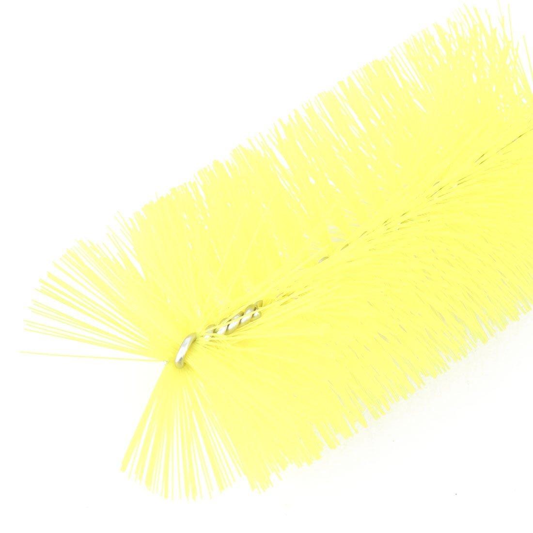 Amazon.com : eDealMax Tubo del tanque de Acero inoxidable pescados del acuario de limpieza de aire manguera del cepillo Amarillo : Pet Supplies