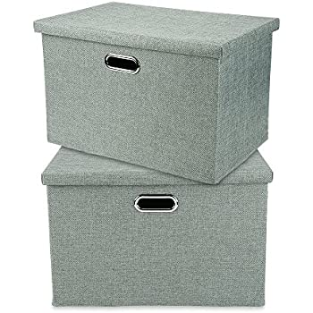 Amazon Com Livememory Storage Box Decorative Storage Bin