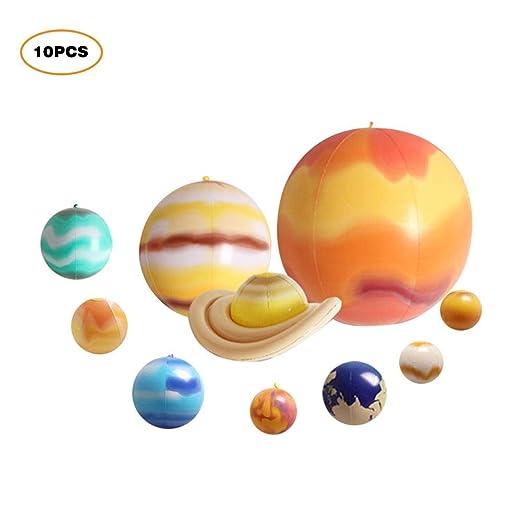 per Globos 3D Hinchables de Sistema Solar Colgantes Inflables de ...