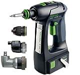 Festool 564374 C15 15V Lithium-Ion 3 Ah Cordless Drill Set