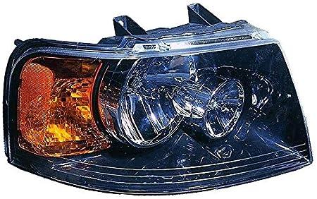 Passenger side WITH install kit 6 inch 2007 Volvo VN670 Post mount spotlight 100W Halogen -Black
