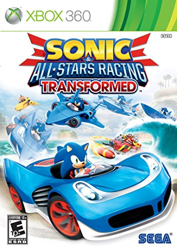 Sonic & All-Stars Racing Transformed - Xbox 360 (Best Racing Game For Vita)