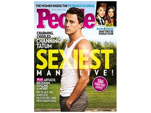 People Magazine (Nov 2012) Sexiest Man Alive - Channing - For Sexiest Glasses Men
