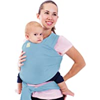 Baby Wrap Carrier by KeaBabies - All-in-1 Stretchy Baby Wraps - Baby Sling - Infant Carrier - Babys Wrap - Hands Free…