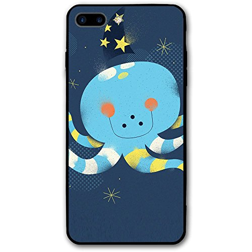 IPhone 8 Plus Case Cute Cartoon Squid Slim Protective Cover Corner Cushion Design For Apple IPhone 8 Plus -
