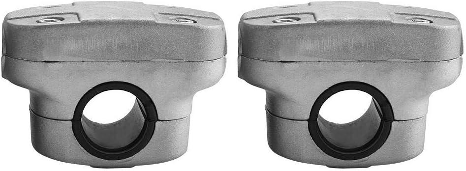 Abrazadera de manija para recortadora, 26 mm 28 mm Soporte de manija Fijación Abrazadera de soporte para recortadora de recortadora Desbrozadora Piezas de tubo Cortacésped 0