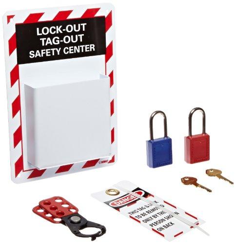 [해외]NMC MCLO2 9 조각 고 영향도 폴리스티렌 장착 마이크로 잠금 센터 키트/NMC MCLO2 9 Piece High Impact Polystyrene Equipped Micro Lockout Center Kit