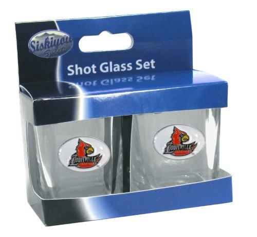(Siskiyou NCAA Louisville Cardinals Shot Glass)