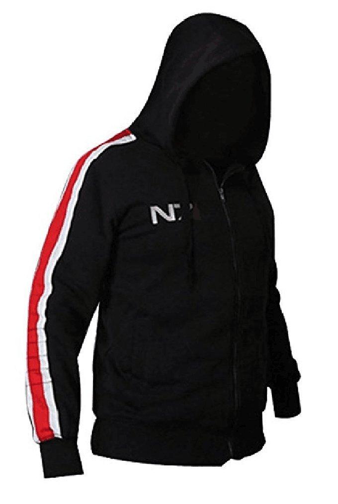 Dahee Hot Game Mens Black Sweater Cosplay Hoodie