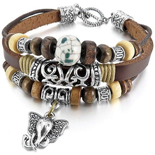 INBLUE Ceramic Bracelet Elephant Embossed product image