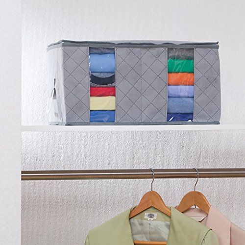 20cc96a7216e 1Storage Clothing Organizer Bag, Breathable Material, 2Cells ...