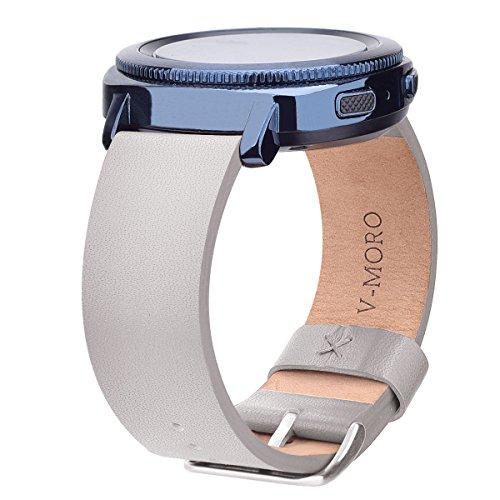 Leather Bracelet Samsung Smartwatch SM R600