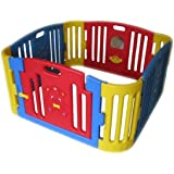 Edu-play Baby Bear Zone With Enclosed Play Area With A Latched Gate., Gp-8011r