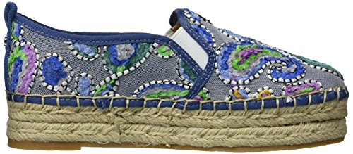 Sam Edelman Women's Carrin Espadrilles, Blush Gold, 10 M US Blue/Multi
