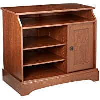 Sauder Graham Hill Highboy TV Stand, Autumn Maple Finish