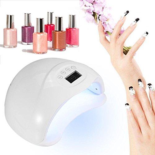 SMYTShop Nail Dryerl,48W LED UV Nail Lamp Gel Polish Dryer Curing Light Kit for Manicure ()