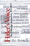 img - for Hitler's Voice (v. 1 & v. 2) book / textbook / text book