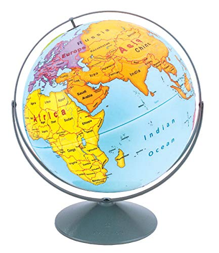 Nystrom Early Learning Raised Relief Globe (Nystrom Raised Relief Map Of The World)