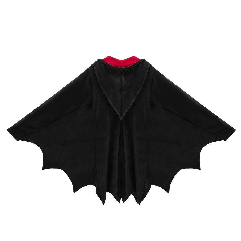 VRTUR Mode Damen Mantel Fledermaus Fl/ügel Welle Schnitt Postleitzahl Kapuzenpullover Zur Seite Fahren/Jacke Parka Winterjacke Outwear Coats