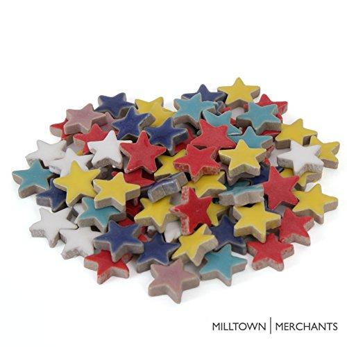 Milltown Merchants Mosaic Shapes (1 Pound, Stars)