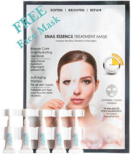 Instantly Ageless (5 Vials) with FREE Snail Mask