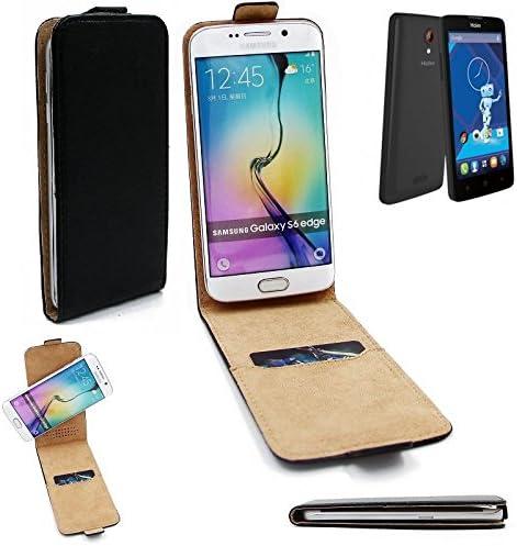 K-S-Trade Caso Smartphone para Haier Phone L52 Cubierta del Estilo del tirón 360°, Negro, Cubierta del tirón: Amazon.es: Electrónica