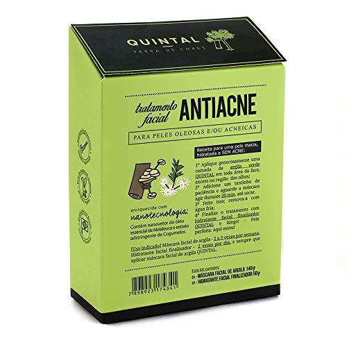 Quintal - Kit Tratamento facial Antiacne Quintal Dermocosméticos