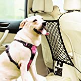 Eackrola Car Dog Barrier Universal Stretchy Disturb Stopper from Children and Pets Auto Backseat Barrier Net Organizer For Sale